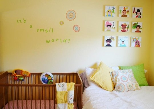 Decoracion Habitaciones Bebe ~ Me encanta la decoraci?n de esta habitaci?n de beb?, el detalle