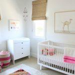 Un Kilim en la habitación del bebé