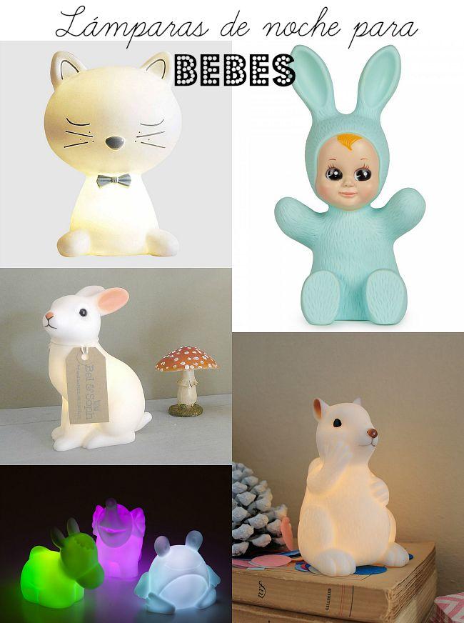 Lámparas de noche para bebés