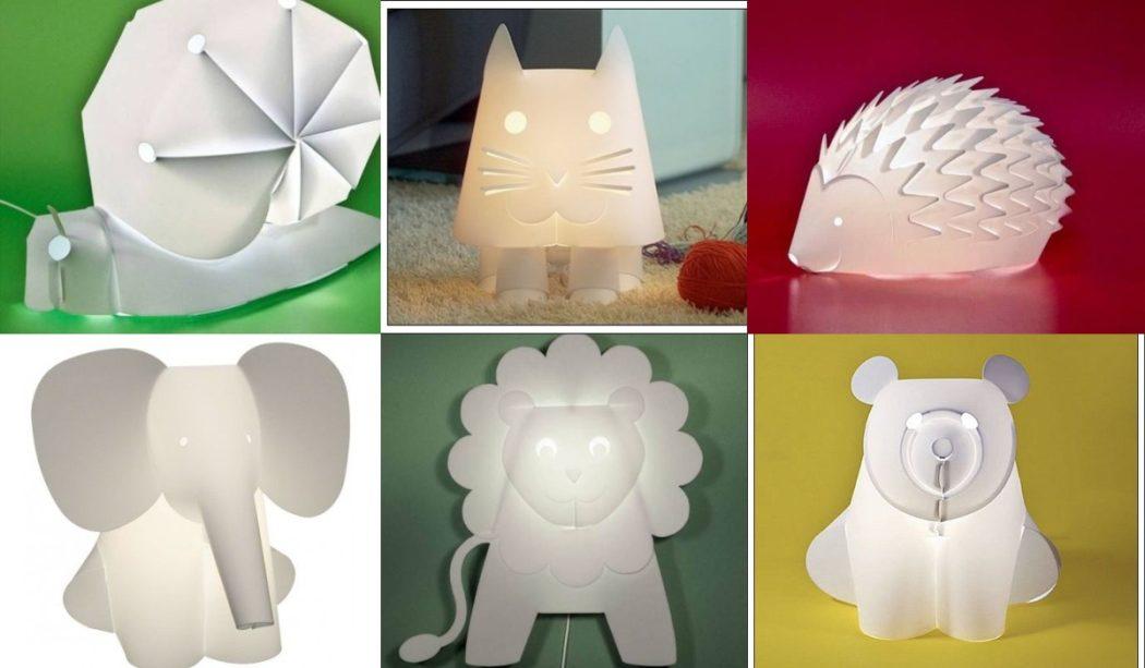 Lámparas Zoolight para la habitación del bebé