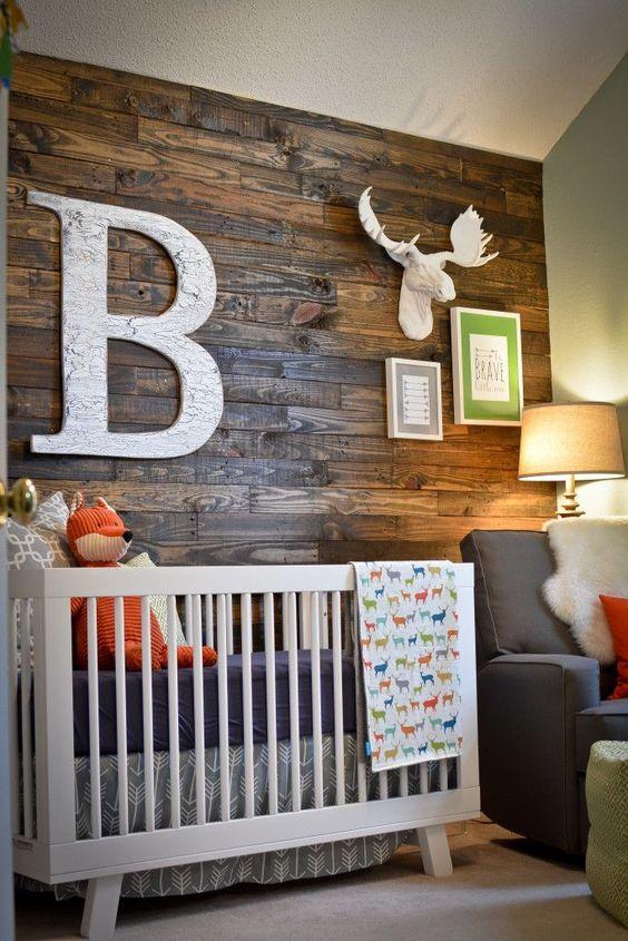 Letras decorativas para bebés Iniciales