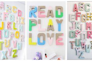 Dónde comprar letras baratas para decorar