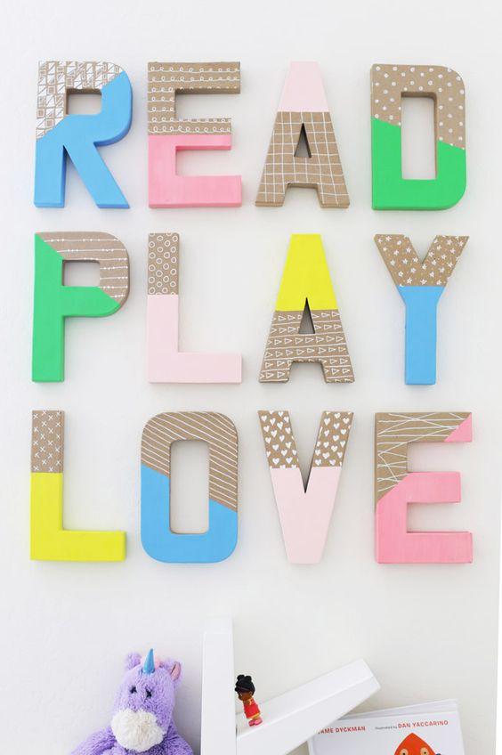 decorar letras