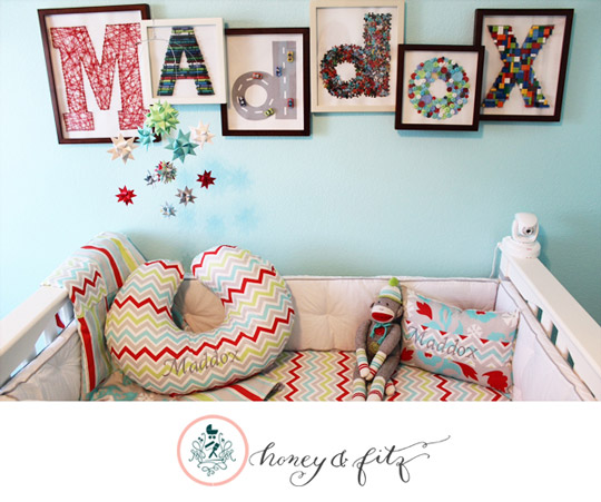 Decorar con letras creativas