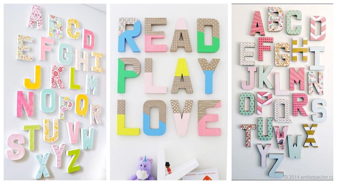 Comprar letras baratas para decorar