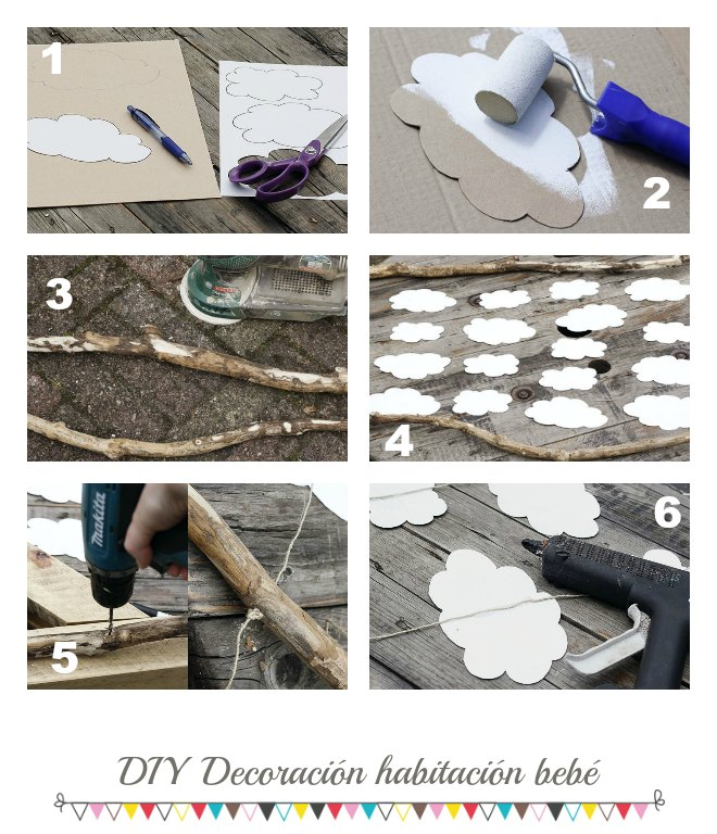 diy decoracion bebe diy decoracin habitacin beb decoracin bebs