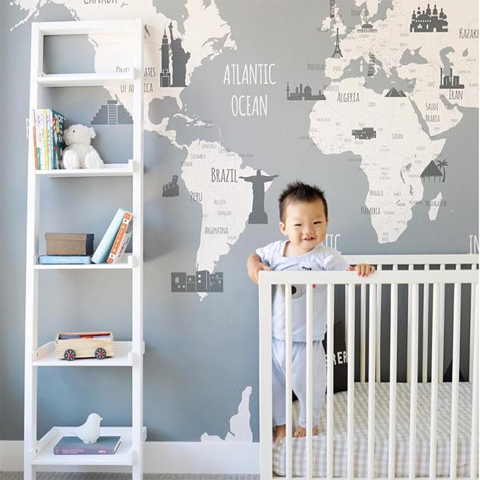Decoracion bebes ideas de decoraci n beb s ni a ni o gemelos trillizos Dibujos para decorar habitaciones de bebes