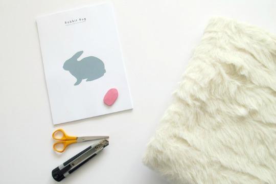 materiales-alfombra-conejo