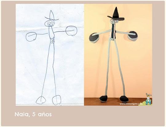 Mi monigote convierte tus dibujos en muñecos