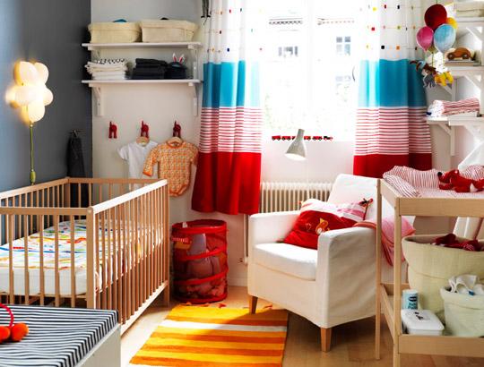 Aparador Movel Madeira ~ Habitaciones para bebes Ikea DECORACIÓN BEBÉS