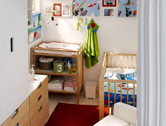 Habitaciones para bebes ikea decoraci n beb s - Camas de bebe ikea ...