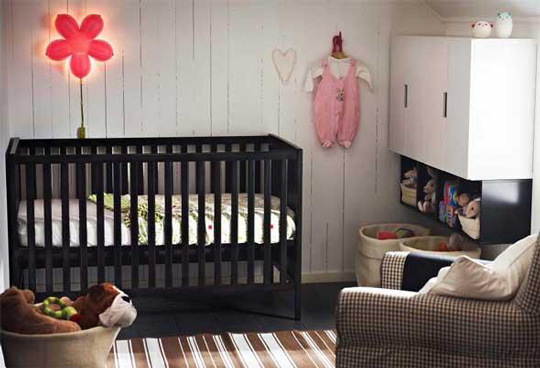 habitaciones para bebes ikea decoraci n beb s. Black Bedroom Furniture Sets. Home Design Ideas