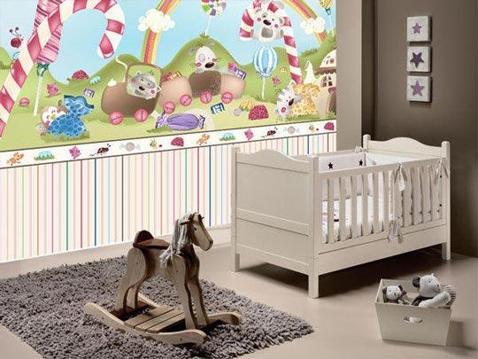 Murales para habitaciones de bebés La Bambolina