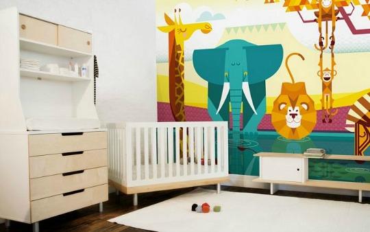 Murales de papel E-Glue