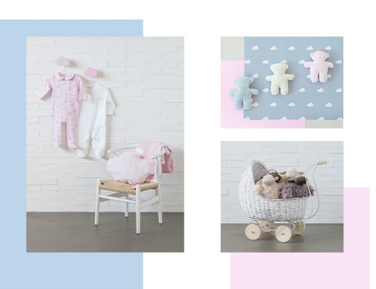 Inspiraci n nubes en zara home kids decoraci n beb s for Cortinas bebe zara home