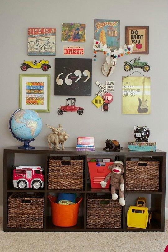 Organizar los juguetes, ideas
