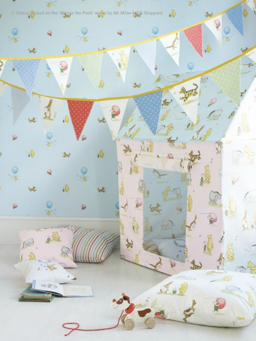 Papel pintado the nursery tales de jane churchill - Papel pintado bebe ...