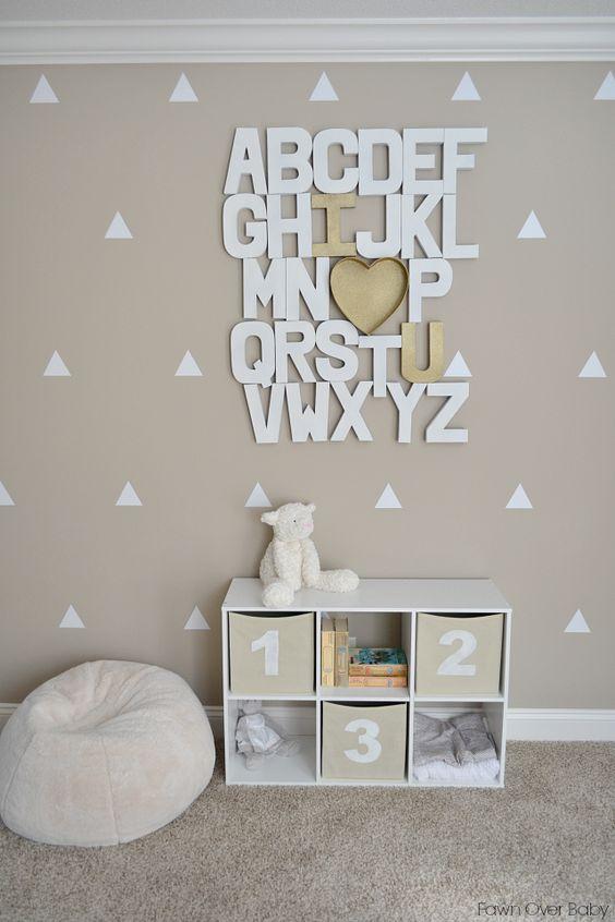 Letras decorativas para beb s decoraci n beb s - Letras bebe decoracion ...