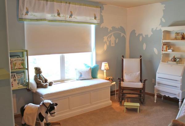 pintar la habitación de un bebé niño