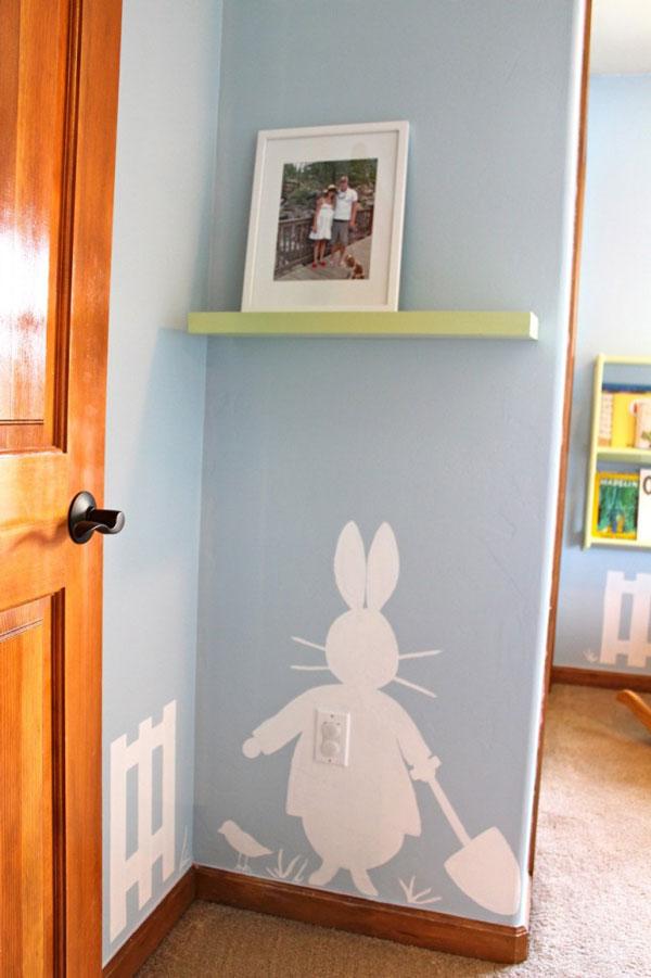 Como pintar la habitaci n de un beb ni o decoraci n beb s - Como pintar habitacion bebe ...