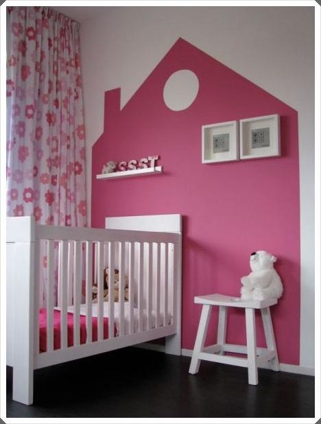 Idea para pintar la habitación del bebé