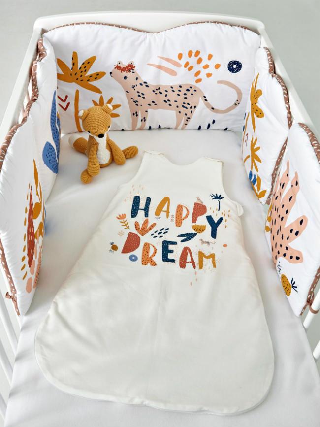 Coordinados textiles para bebés de Vertbaudet