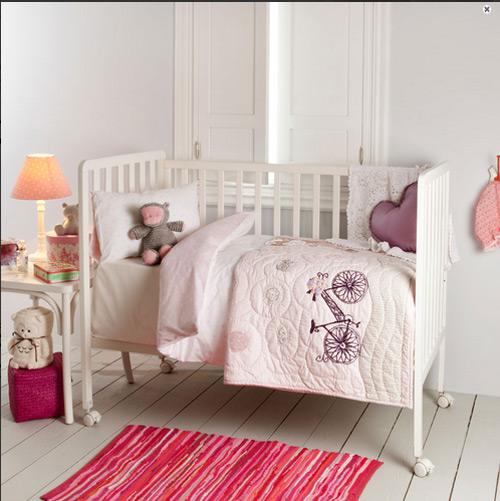 Vestir la cuna en zara home kids decoraci n beb s for Cortinas bebe zara home