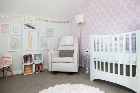 Decoraci n de habitaciones beb s imagui - Habitaciones nina bebe ...