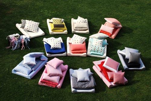 Coordinados textiles Sara Rota