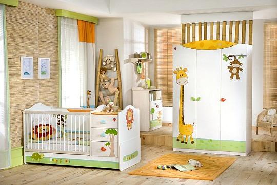 Dormitorio Baby Safari de Cilek