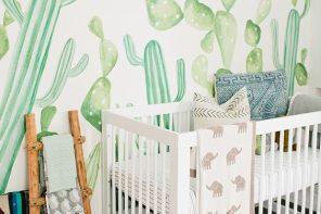 Tendencia Cactus para bebés