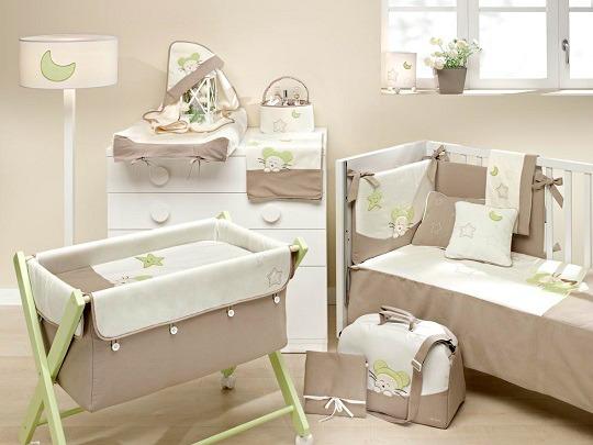 Textiles para la habitaci n del beb decoraci n beb s - Ikea textil cama ...