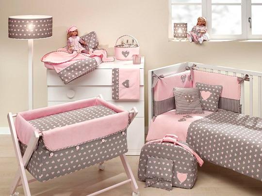 Textiles para la habitaci n del beb decoraci n beb s for Cuartos de nina recien nacida