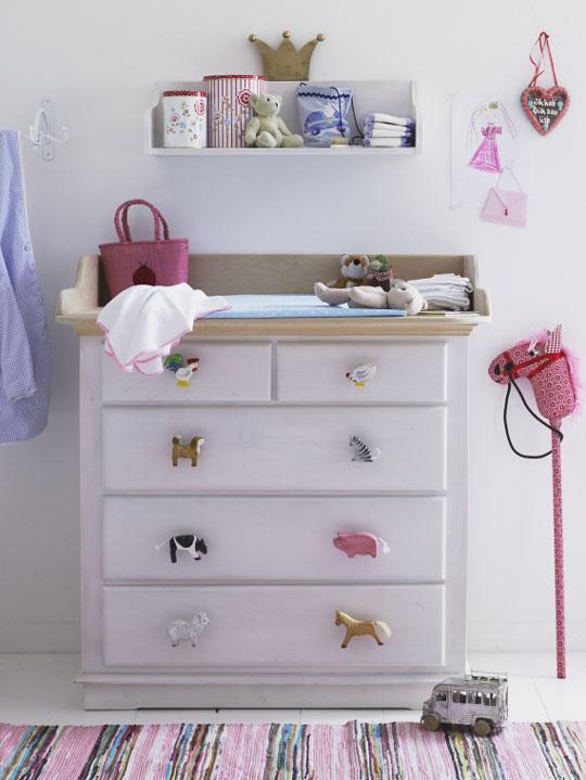 Como decorar una c moda para el dormitorio infantil - Decorar habitaciones infantiles pequenas ...