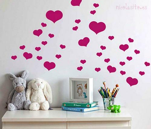 vinilo-corazones