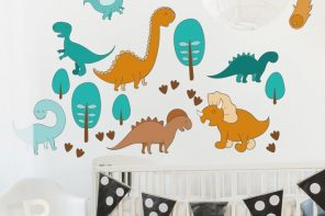 Consejos para una decoración bebés Dinosaurios