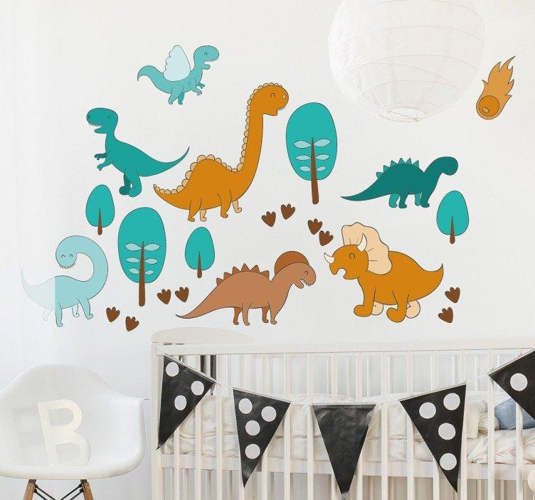 Consejos para una decoración bebés Dinosaurios