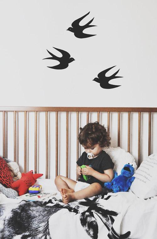 Como hacer un vinilo para la habitación del bebé