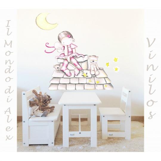 Vinilos il mondo di alex decoraci n beb s for Habitacion bebe con vinilos