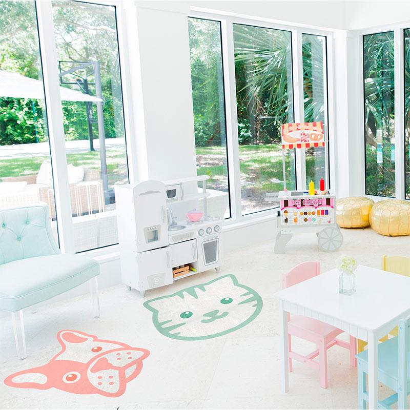 Vinilos infantiles para suelos decoraci n beb s - Suelos vinilicos infantiles ...
