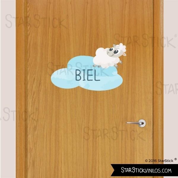 vinilo-puerta-ovejita