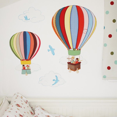 Vinilos para habitaciones de beb s decoraci n beb s for Murales y vinilos infantiles