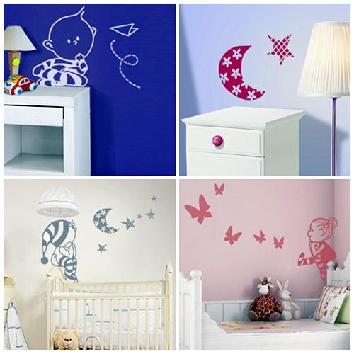 Decoraci n beb s vinilos decoraci n beb s - Decoracion habitacion bebe vinilos ...