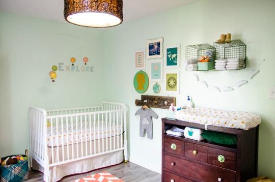 Habitaci n de estilo vintage para el beb decoraci n beb s for Objetos decoracion habitacion bebe